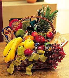 gourmet fruit basket flower petal send flowers online same