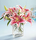 Pink Lilies CubedNCB1-3701A