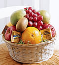 Fruit and Chocolate BasketOKC40-2991