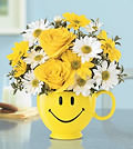 Be Happy BouquetWITF109-2