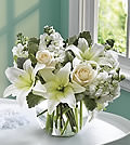 White Roses and LiliesNETF117-3
