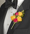 What better way to symbolize joy on your special day than with a yellow rose.
